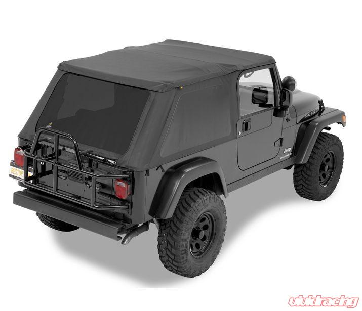 Jeep Wrangler Soft Top >> Jeep Tj Soft Top Trektop Nx 04 06 Jeep Wrangler Tj Unlimited Black Diamond Kit Bestop