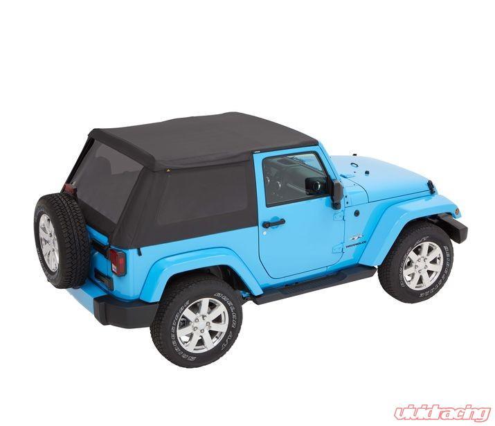 Jeep Jk Soft Top >> Jeep Jk Soft Top Trektop Nx Plus 07 17 Jeep Wrangler Jk 2 Door Black Twill Kit Bestop