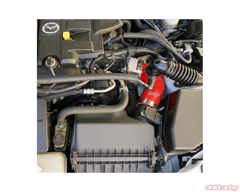 HPS Blue Reinforced Silicone Post MAF Air Intake Hose Kit for Mazda 09-15  MX-5 Miata NC2 NC3