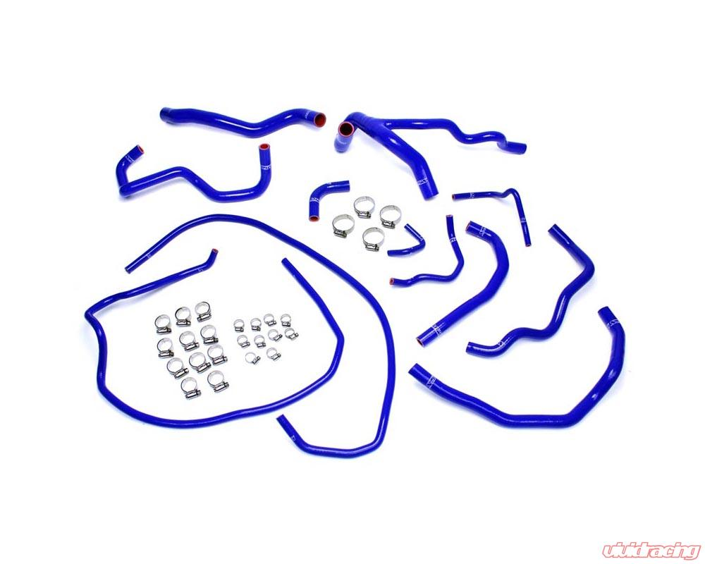 HPS 57-1471-BLUE WK1 XK Silicone Heater Hose Kit Coolant