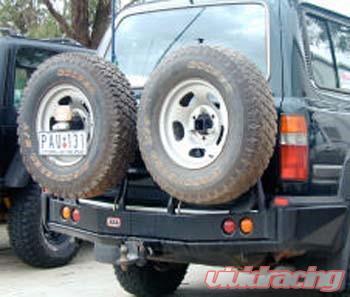 ARB Left Side Rear Bumper Tire Carrier Toyota Land Cruiser 80 Series    Lexus LX450 90-97