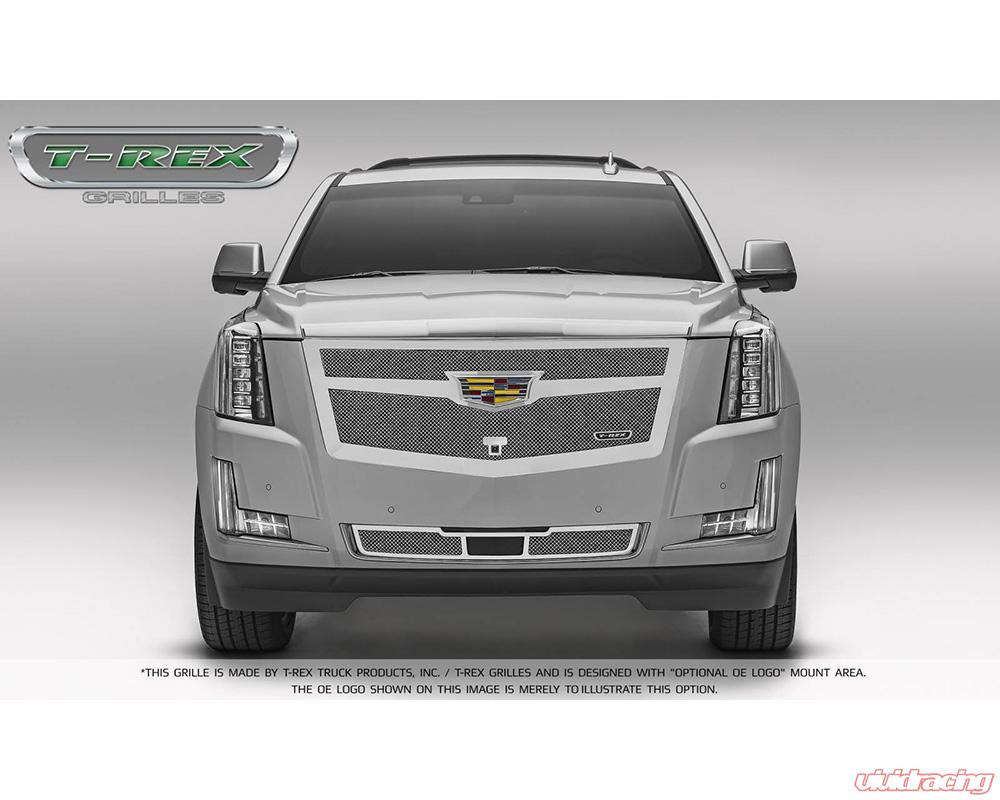 2015-2019 Escalade Upper Class Bumper Grille, Chrome, 1 Pc, Replacement,  Fits Vehicles with Adaptive Cruise Control - PN #57189