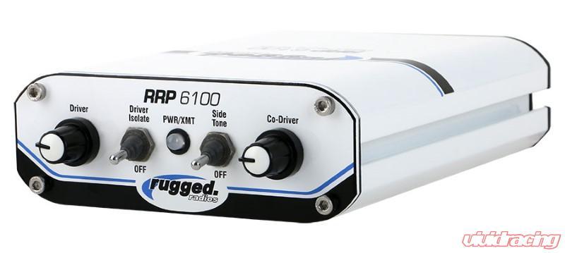 Rugged Radios RRP6100 2-Place Race System with 60-Watt Radio Kit