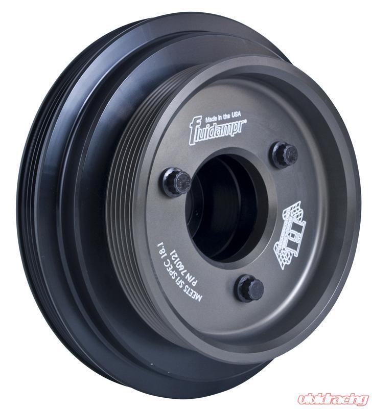 Fluidampr Steel Internally Balanced Damper Chevy 262 - 350 409 CID V8 90 V6