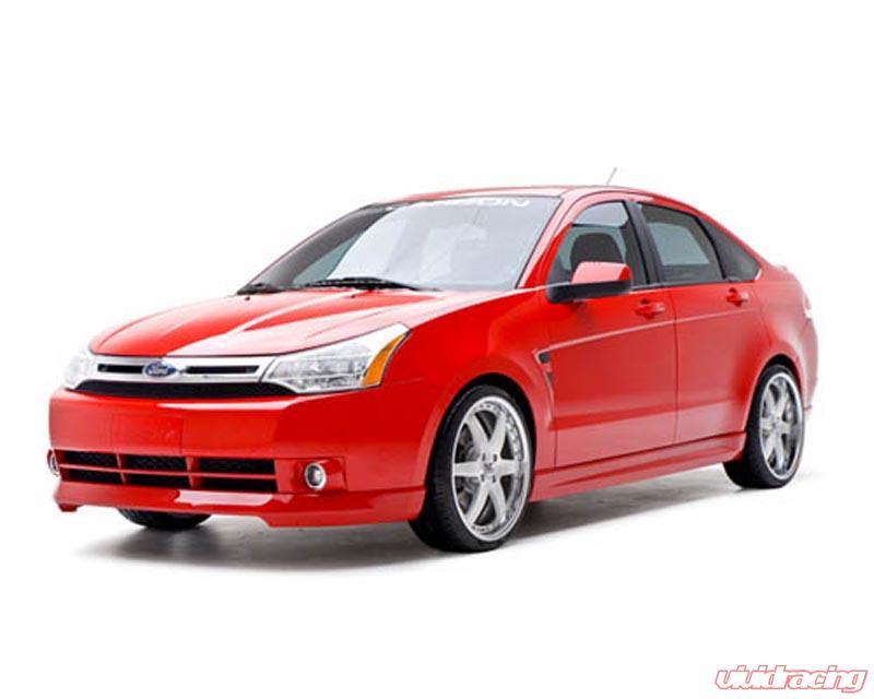 Ford Focus Body Kit >> 3dcarbon 4pc Body Kit Ford Focus 2dr 08 4dr 08 11