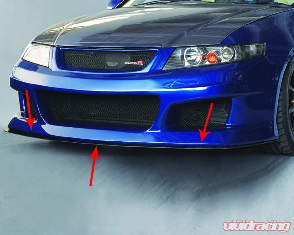 Spoon Sports S Tai Front Bumper Under Panel Honda Accord Euro R Jdm
