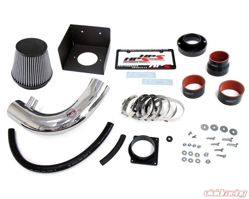 ST Racing Black Short Ram Air Intake Kit Filter 97-03 Compatible with F-150 Expedition 97-99 F-250 4.6L//5.4L V8