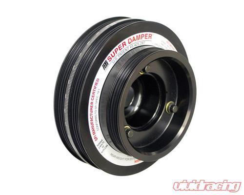 Ati Racing 5 Od Aluiminum 3 Ring 60lb Street Super Damper Kit Nissan 300zx Vg30 35mm Crank 90 98