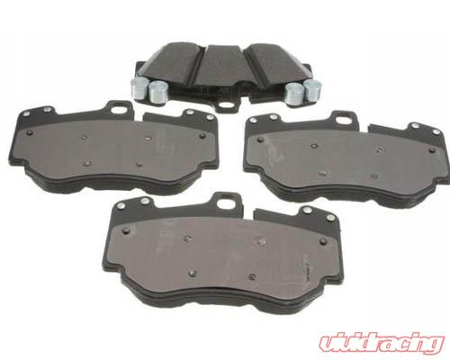 oem rear brake pad set porsche cayenne incl s hybrid 2011. Black Bedroom Furniture Sets. Home Design Ideas