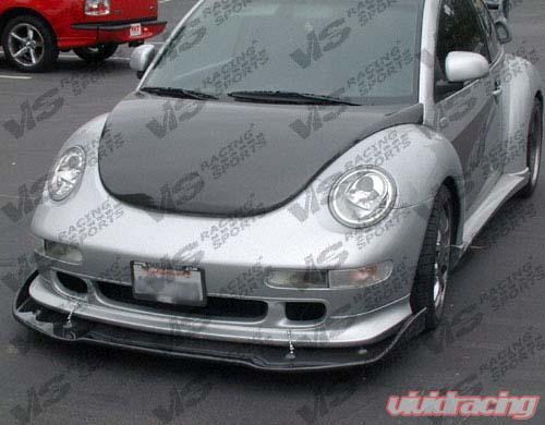 Vis Racing Carbon Fiber Oem Hood Volkswagen Beetle 98 05 98vwbee2doe 010c