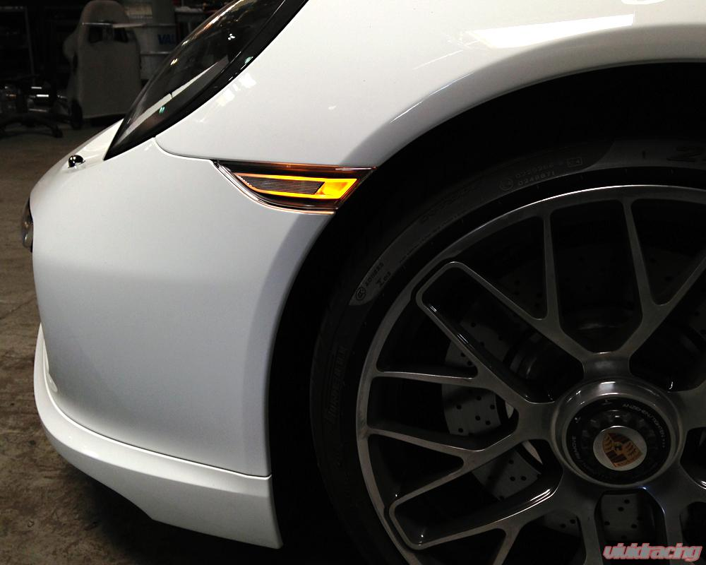 Porsche Oem Led Clear Side Marker Lights Porsche 991