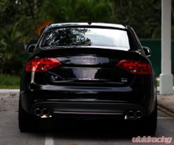 Eisenmann Stainless Steel Axleback Exhaust 4 X 83 Mm Round Tips Audi