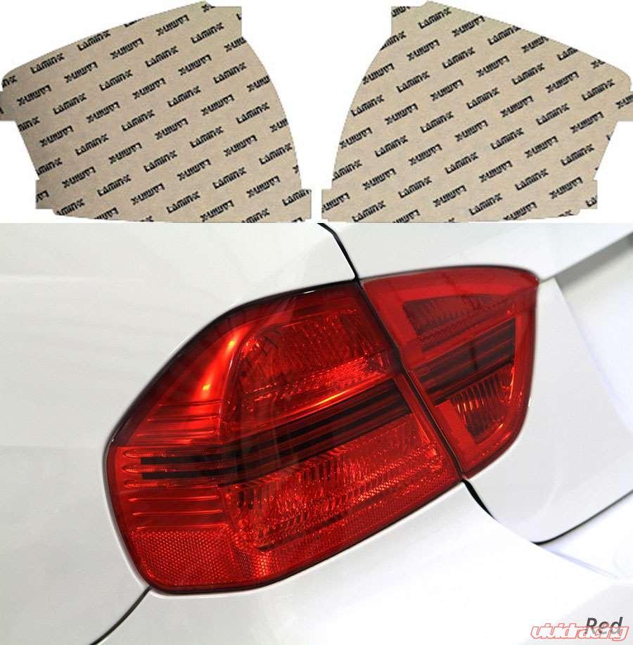 Tail Light Covers Brake & Tail Light Assemblies Lamin-x A201R Tail Light Cover