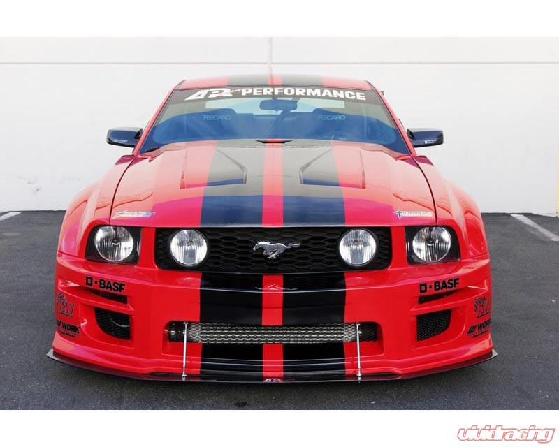 apr wide body kit ford mustang s197 gt r 05 09. Black Bedroom Furniture Sets. Home Design Ideas
