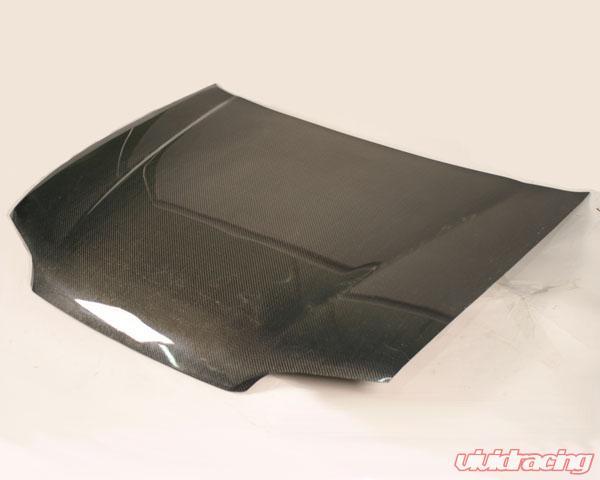 Advan Carbon OEM Style Fiber Hood Honda Civic Sedan 92 95