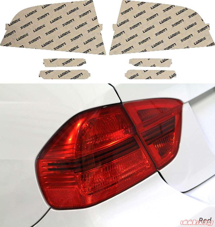 Acura TL 04-08 Red Tail Light & Side Marker
