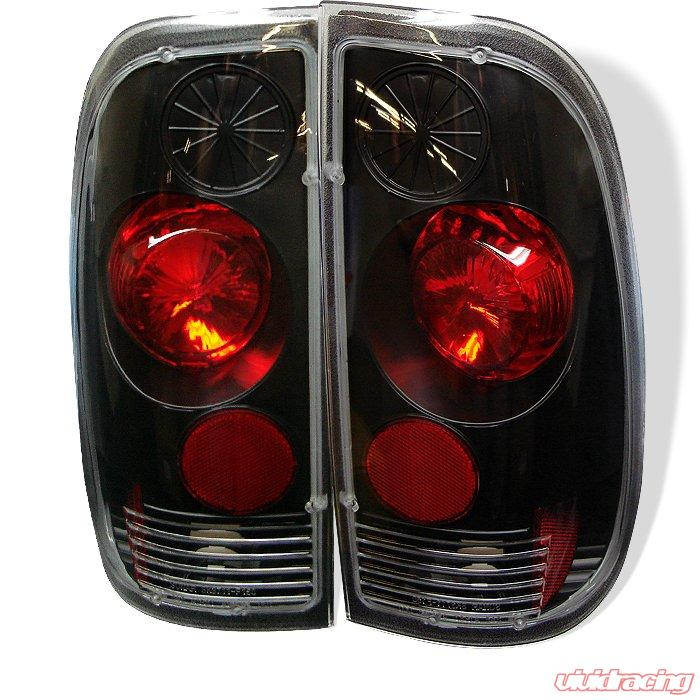 Spyder Altezza Jdm Black Tail Lights Ford F150 Styleside
