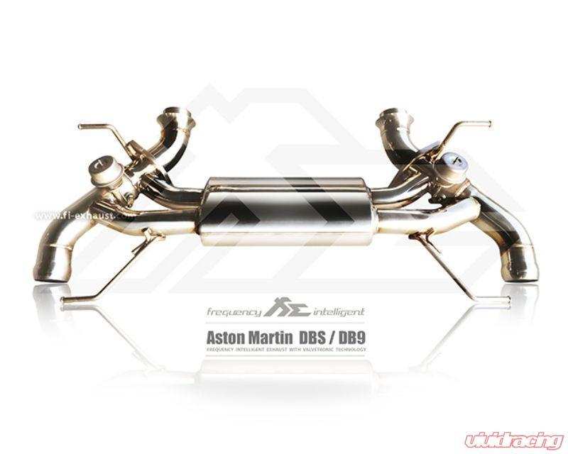 Fi Exhaust Valvetronic Muffler W Standard Remote Aston Martin Db9 2004 2016 Am Db9 Cbv R2016ol Obd Cab V