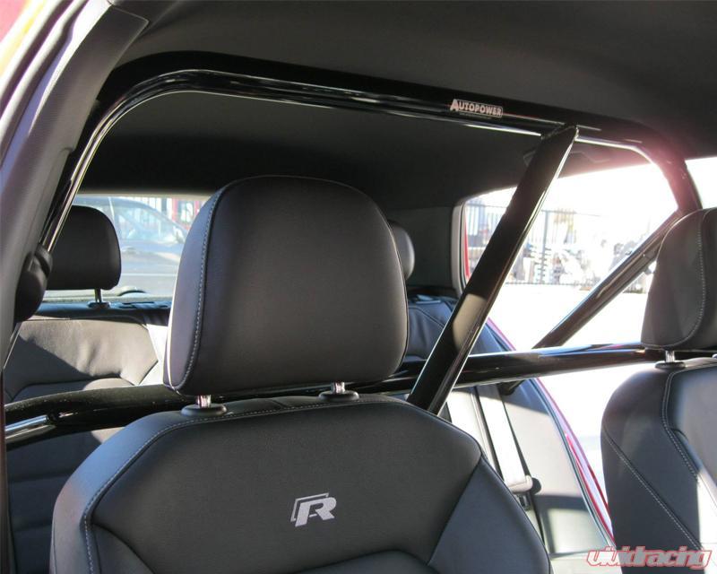 Auto 4point Mount Race Roll Bar Volkswagen Golf Mk7 4 Door 60426 Image 3