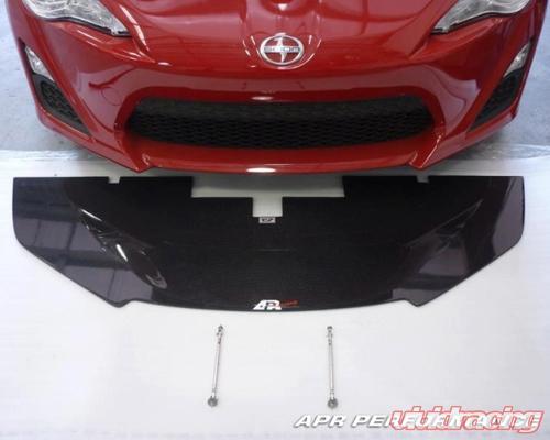 apr carbon fiber front splitter scion fr s 13. Black Bedroom Furniture Sets. Home Design Ideas