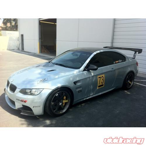APR GTC-300 Adjustable 61 Inch Carbon Wing BMW E92 M3 08-11