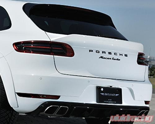 As Blrgs 95bt Artisan Spirits Black Label Rear Gate Spoiler Porsche Macan Turbo