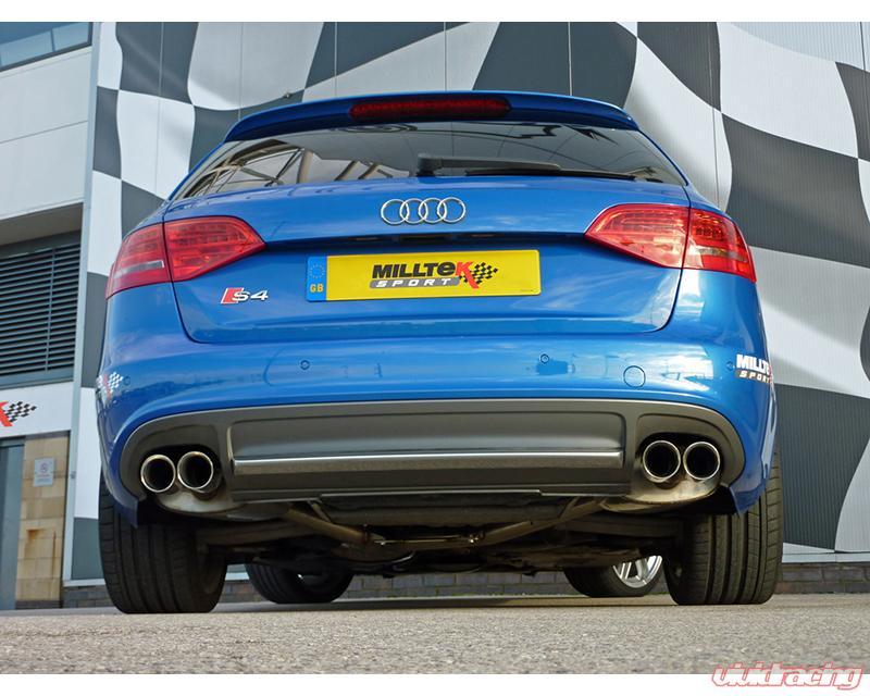 Audi S4 Exhaust Vivid Racing News