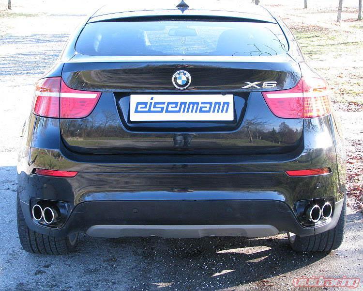 Eisenmann Stainless Catback Exhaust 4x90mm Round Tips Bmw X6