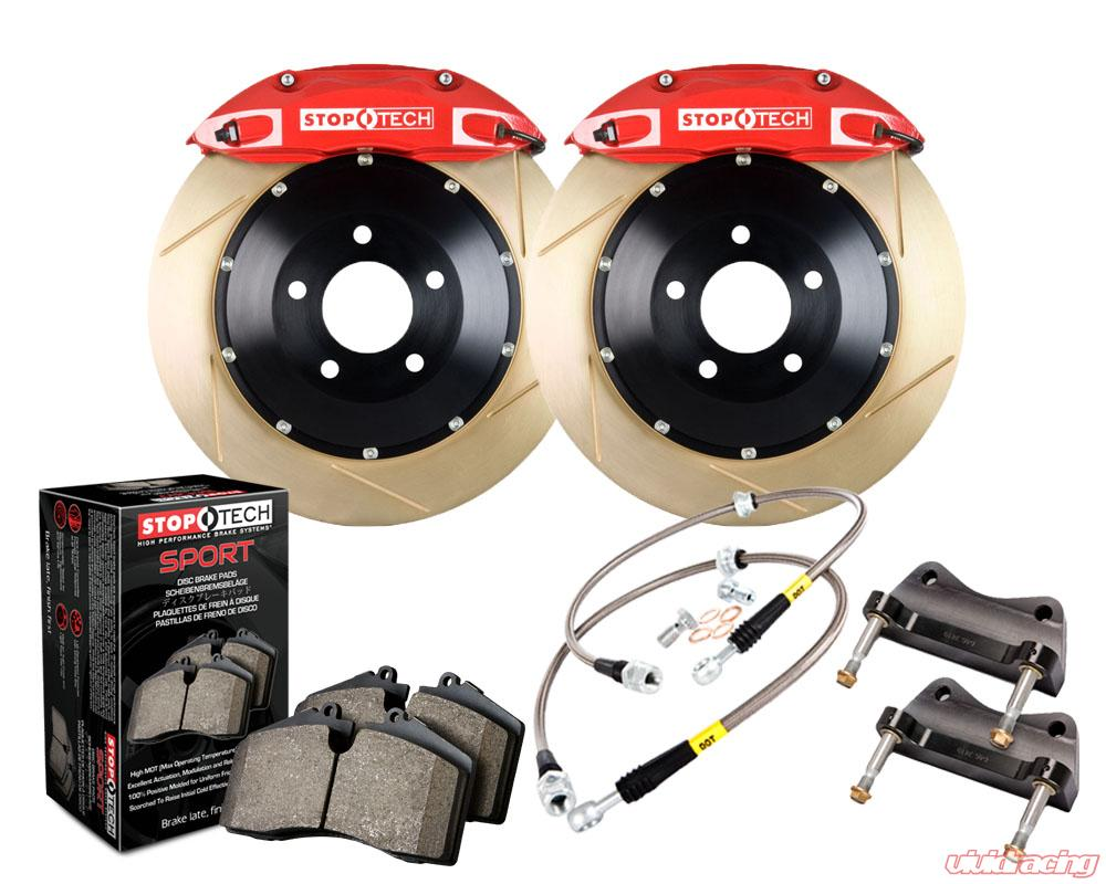 STOPTECH STAINLESS STEEL FRONT BRAKE LINES FOR 00-06 TOYOTA TUNDRA
