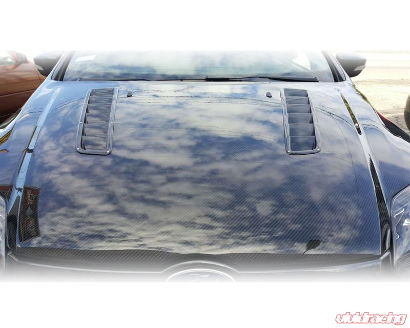 Advan Carbon Rs Modular Design Carbon Fiber Hood Ford Focus St 12 14