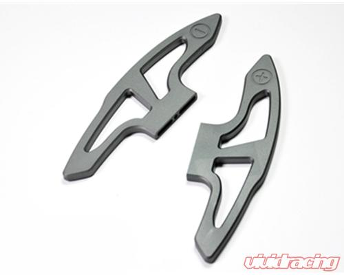 SILVER ALUMINUM SHIFT PADDLE Shifter Paddles for BMW E9X M3 E90 E92 E93
