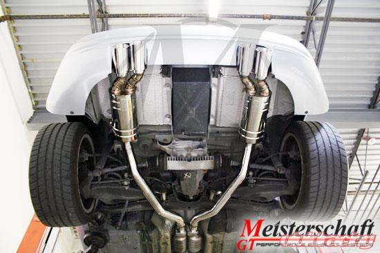 Meisterschaft Stainless Hp Touring Axle Back Muffler Bmw