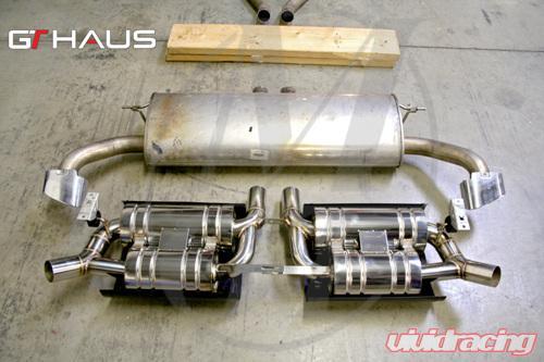 Meisterschaft Stainless Gts Ultimate Axle Back Muffler 4x83mm Tips Bmw X5 Xdrive35i 3 5l 11