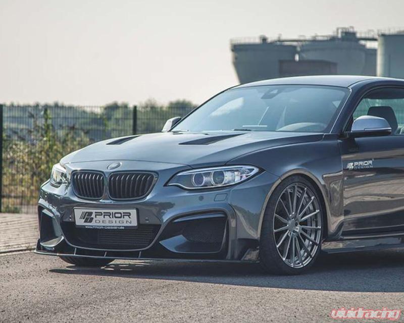 Prior Design PD2XX Front Lip Spoiler BMW 2-Series F22   F23 14-20   4260609890570