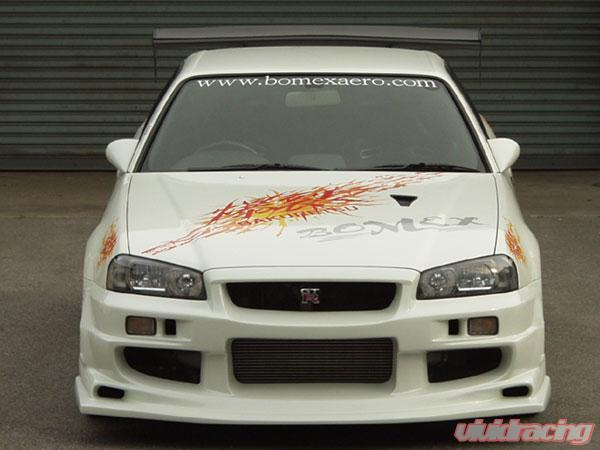 BOMEX Front Bumper 01 Nissan Skyline GT-R R34 99-02