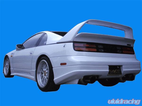 BOMEX Rear Bumper Cover Rear Half 02 Nissan 300ZX Z32 90-96