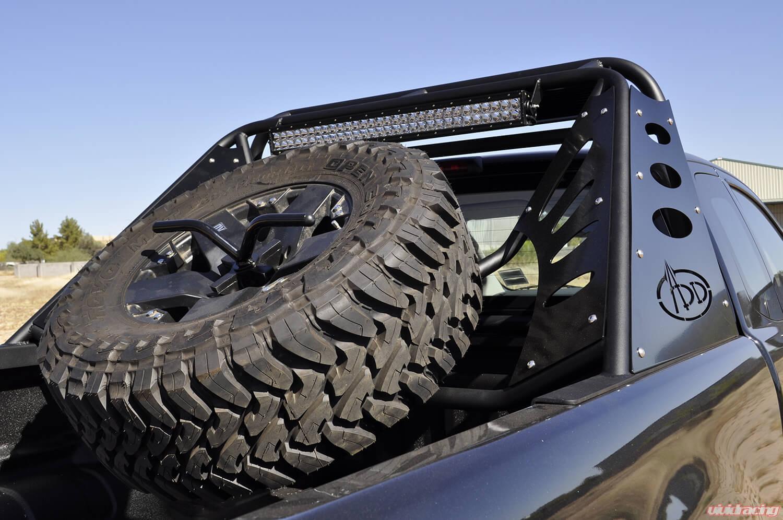 C255072640103 Addictive Desert Design Chase Rack Lite Ford Ranger 1955 F100 Spare Tire Carrier T6 11 16