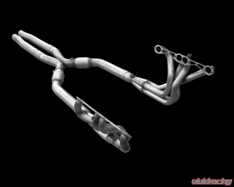 American Racing 1 75 inch x 3 inch Headers with 3 inch X Pipe Chevrolet  Corvette C4 LT1 | LT4 | L98 84-91