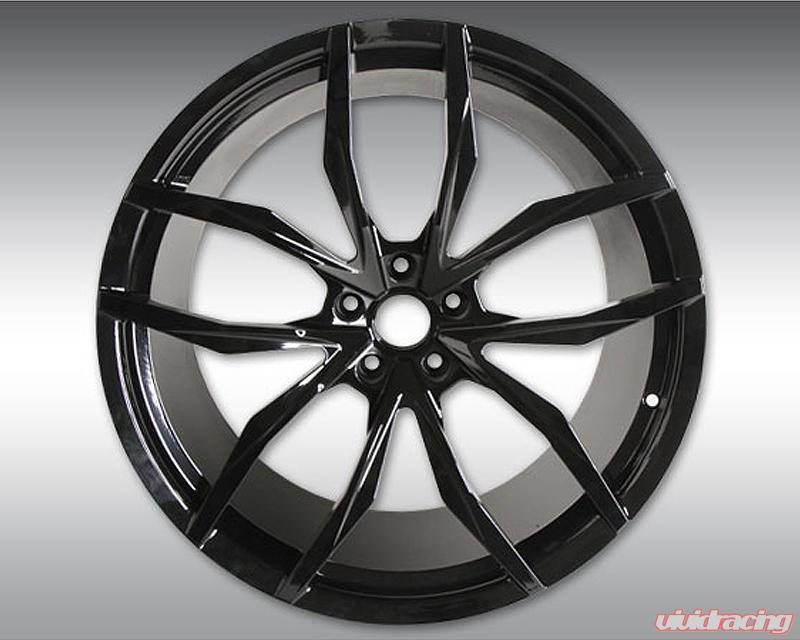 c4 720 11 | novitec mc1 forged 9x20 black front wheel mclaren 720s 17-19
