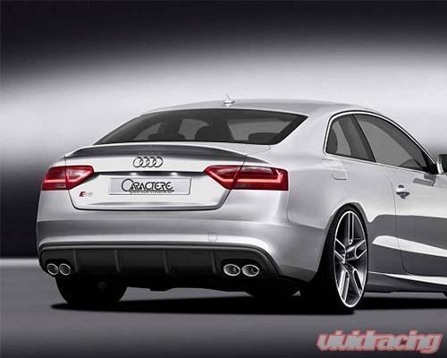 Caractere Performance Rear Spoiler Audi S5 08 16 Caa5301125s2l