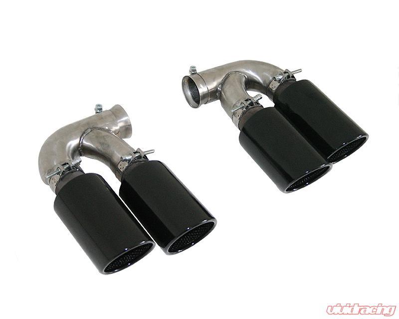 cargraphic 100mm black enamelled quad round exhaust tips porsche cayenne 958 diesel 11 14 carp58er44ena cargraphic 100mm black enamelled quad round exhaust tips porsche cayenne 958 diesel 11 14