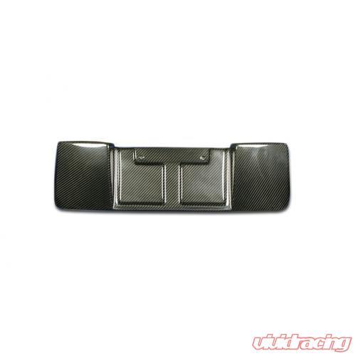 CBX-WRXLIC11   Carbon Craft Carbon Fiber License Plate Frame Subaru ...