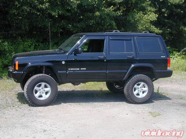 Lifted Jeep Cherokee >> Xj 4 5 Inch Premium Short Arm Lift Kit Clayton Offroad
