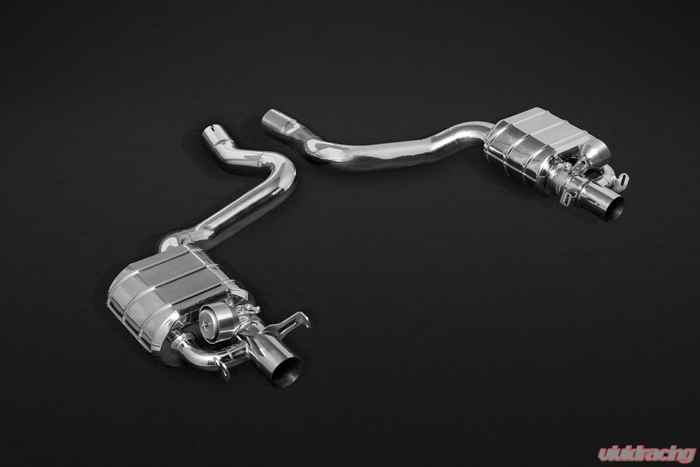 Capristo Mercedes C43 AMG T-Model (S205) Valved Exhaust w/CES-3 Remote Kit