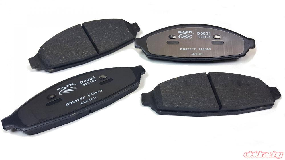 Ceramic Brake Pads Front /& Rear for 03-11 Town Car Grand Marquis Crown Victoria