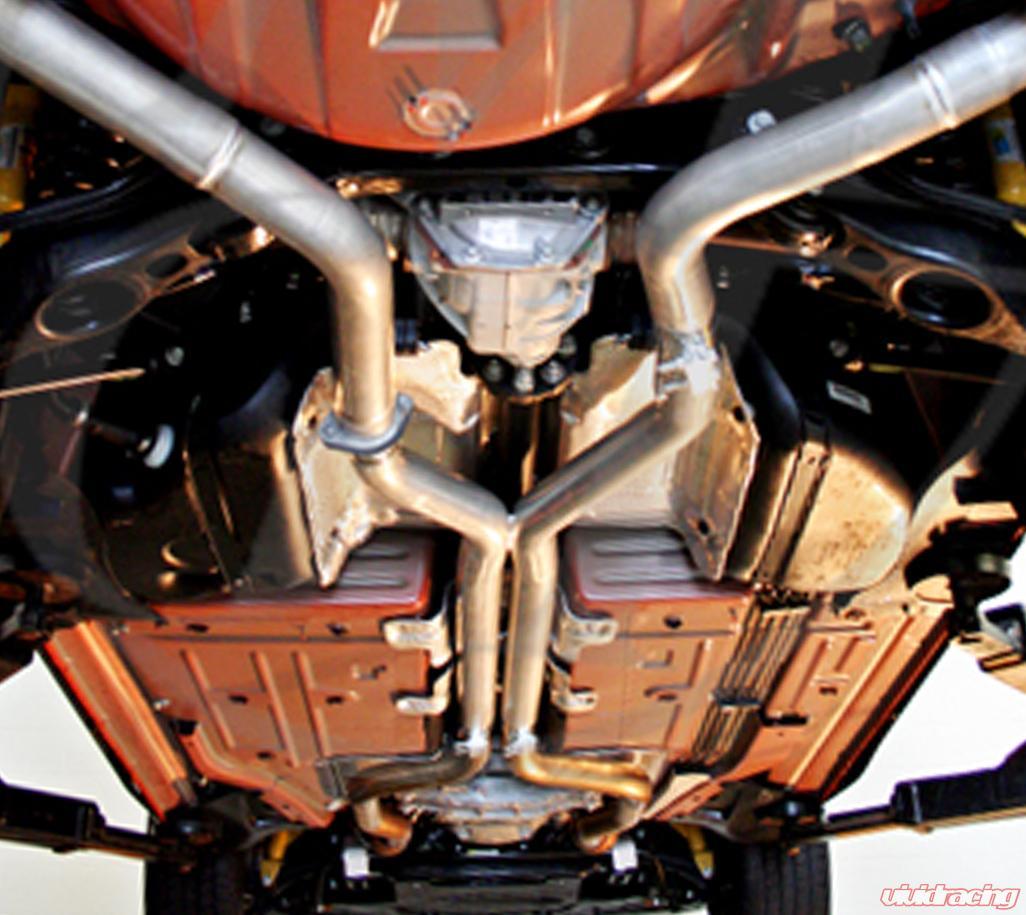 Mid Muffler Delete Kit Dodge Challenger Charger SRT Hellcat Round Muffler Auto