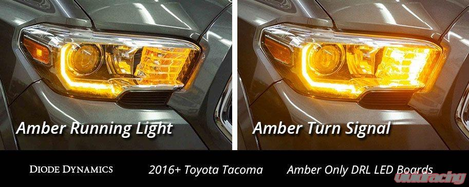 Diode Dynamics DD2287 Tacoma 2016-2019 Pro-Series Amber DRL Boards