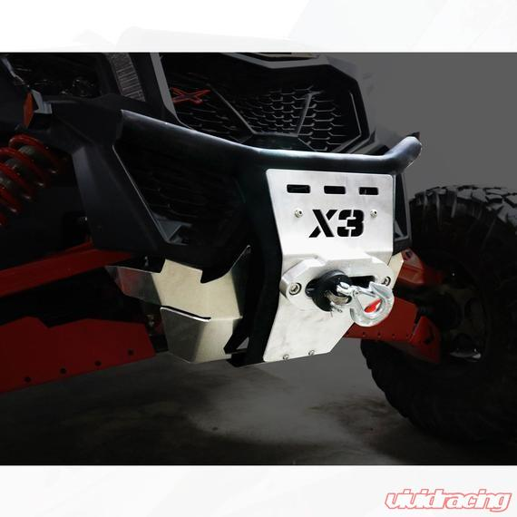AFX Motorsports Front Bumper With Winch Mount Can-Am Maverick X3/X3 Max