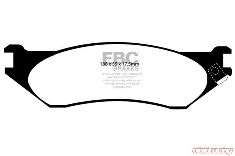 EBC Brakes ED91267 Brake Pad