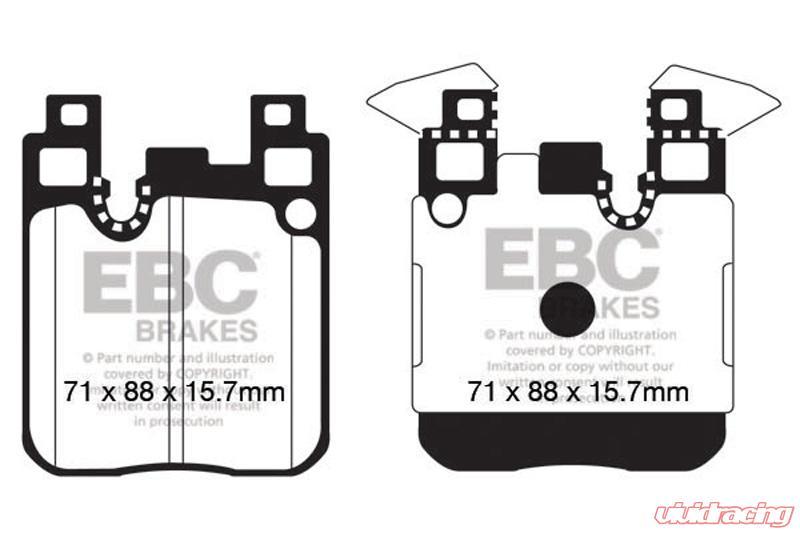 Pleasant Ebc Brakes Redstuff Premium Street Rear Disc Brake Pad Set Fmsi Wiring Digital Resources Inklcompassionincorg